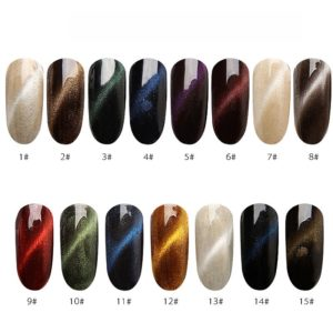 3D effect cat eye magnetic pulver