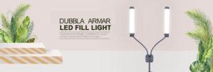 Double-arm Light med handväska