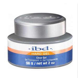 Ibd Clear Gel till gelénagel uppnår styrkan i akryl och det kristallklara look från gelé.