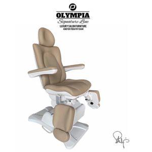 Behandlingsstol Olympia i Royal brun