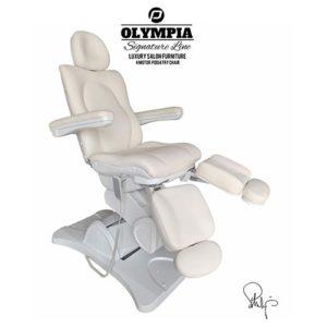 Behandlingsstol Olympia i Royal vit