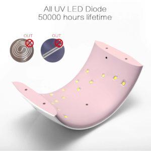 UN 9S UV/LED Lampa för pedikyr och maniky