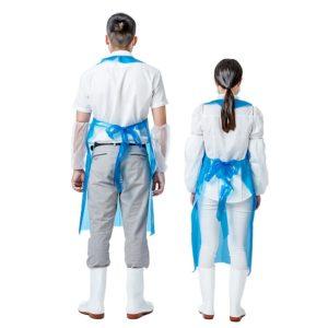 engångs skyddsförkläde, Perfekt för att skydda dina kläder. ta emot dina kunder ren och snygg!
