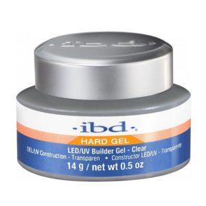 Ibd Clear Builder Gel till gelénagel uppnår styrkan i akryl och det kristallklara look från gelé.