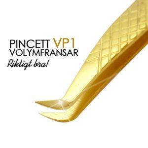 Diamond Grip Volympincett av hög kvalitet. De är perfekta för att plocka upp små volymfransar.