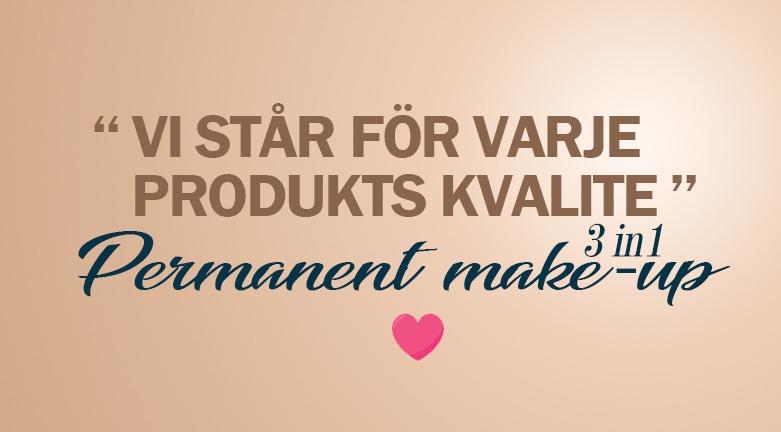 vi står för varje produkts kvalit