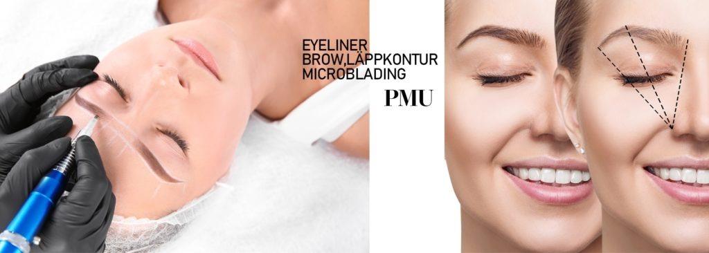 microblading ombre shadding 3D ögonbrynsprodukter för salong
