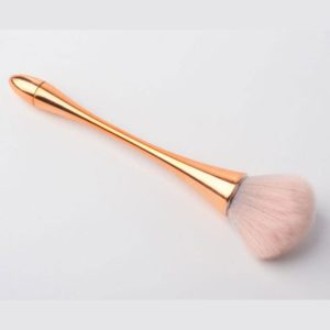 Brush for make up nails brush all in one gold
