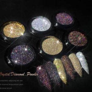 Crystal diamond powder glitter