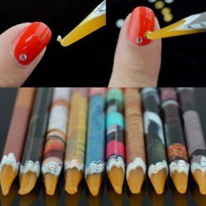 Nail Art Wax Pen Rhinestones Gems Picking Tool