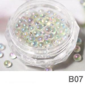 Nail Pearl Beads Mixed Size B 07
