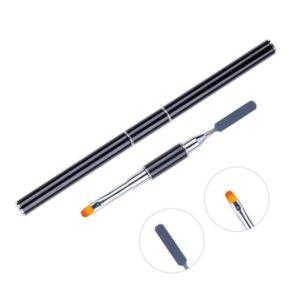 Poly UV gel UV nail art pen slice brush dual-ended slice bb