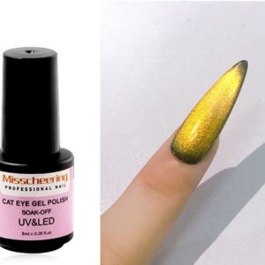 cat eye uv-gel Gold