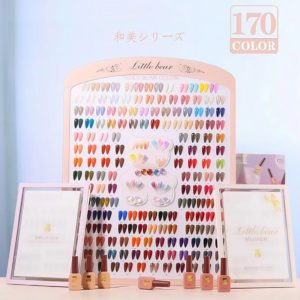 Little bear Japan inspired shellack gellack soak off gel 15 ml display