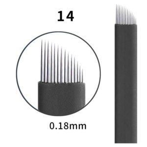 Microblading #14 0.18mm Magic Black Flex Blade