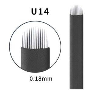 Microblading #14 U 0.18mm Magic Black U Blade