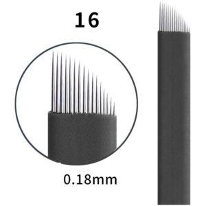 Microblading #16 0.18mm Magic Black Flex Blade