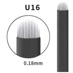 Microblading #16 U 0.18mm Magic Black U Blade