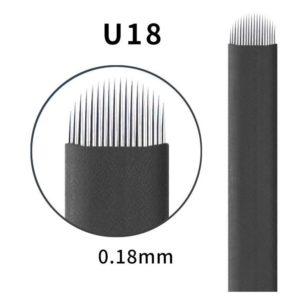 Microblading #18 U 0.18mm Magic Black U Blade