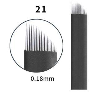 Microblading #21 0.18mm Magic Black Flex Blade