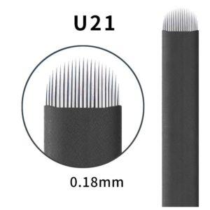Microblading #21 U 0.18mm Magic Black U Blade
