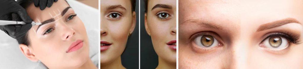 olika ögonbryn